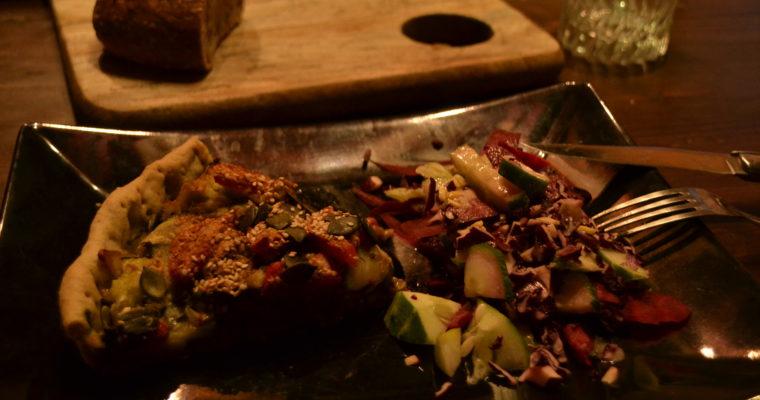 Recette #1 : Tarte végétalienne aux légumes d'été