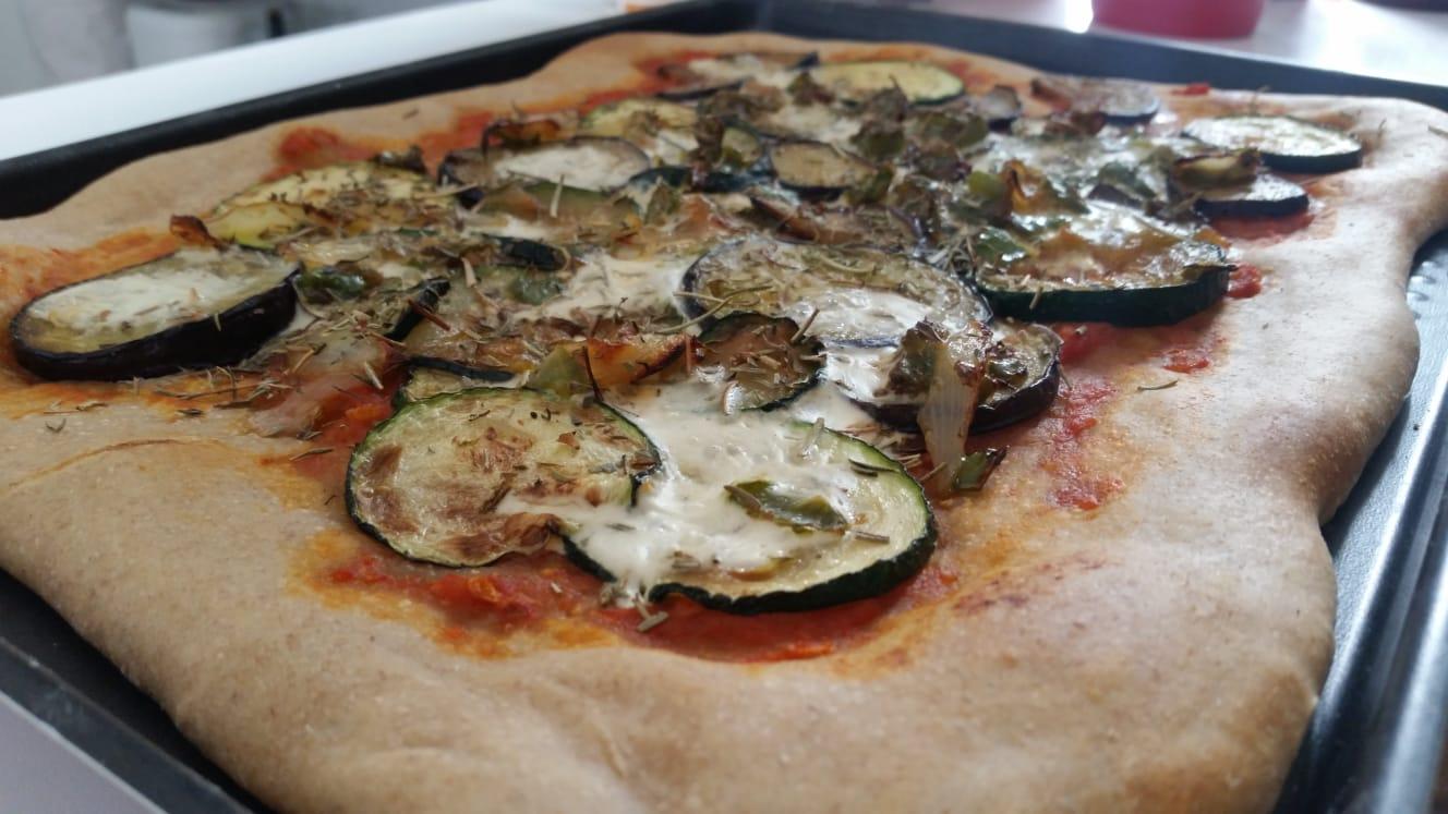Recette #3 Une pizza maison ET végétalienne (ou pas)!